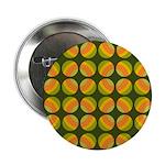 "Mod Polka Dot Retro 2.25"" Button (10 pack)"