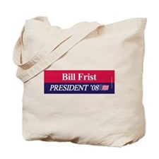 """Bill Frist for President"" Tote Bag"