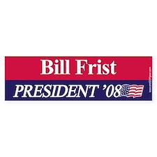 """Bill Frist for President"" Bumper Bumper Sticker"