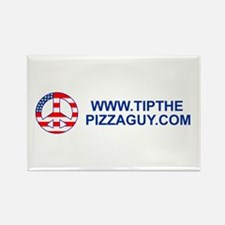 Cute Food service Rectangle Magnet (100 pack)