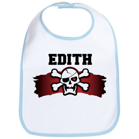 edith is a pirate Bib
