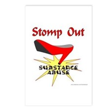 SUBSTANCE ABUSE AWARENESS Postcards (Package of 8)