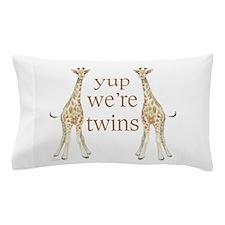 Cute Identical twins Pillow Case