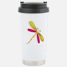 Cute Dragonfly art Travel Mug