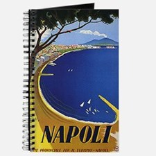 Vinatge Tourism Poster for Naples, Italy Journal