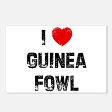I * Guinea Fowl Postcards (Package of 8)
