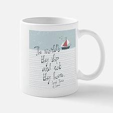 The World's Thy Ship Mugs