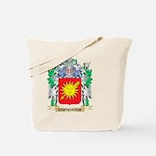 Espadater Coat of Arms (Family Crest) Tote Bag