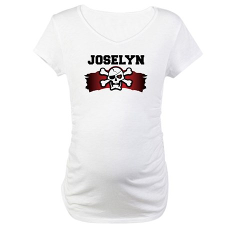 joselyn is a pirate Maternity T-Shirt