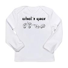 Asl Long Sleeve Infant T-Shirt