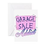 Garage Sale Addict Greeting Cards (Pk of 10)