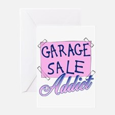Garage Sale Addict Greeting Card