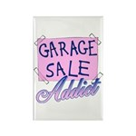 Garage Sale Addict Rectangle Magnet