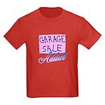 Garage Sale Addict Kids Dark T-Shirt