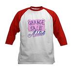 Garage Sale Addict Kids Baseball Jersey