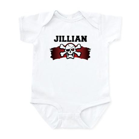 jillian is a pirate Infant Bodysuit