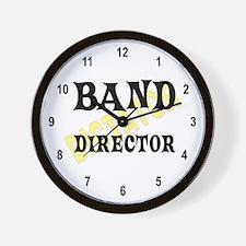 Band Director Wall Clock
