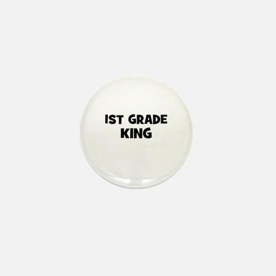 1st Grade King Mini Button