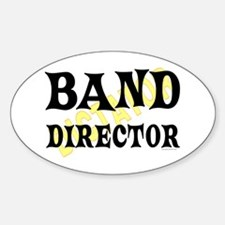 Band Director Oval Decal