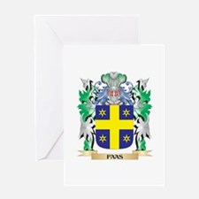 Faas Coat of Arms (Family Crest) Greeting Cards