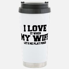 Poker Travel Mug
