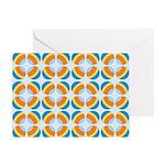 Mod Print Polka Dot Greeting Card
