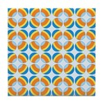 Mod Print Polka Dot Tile Drink Coaster