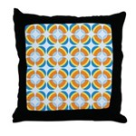Mod Print Polka Dot Throw Pillow