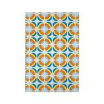 Mod Print Polka Dot Rectangle Magnet