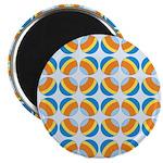 "Mod Print Polka Dot 2.25"" Magnet (10 pack)"