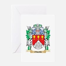 Fagan Coat of Arms (Family Crest) Greeting Cards
