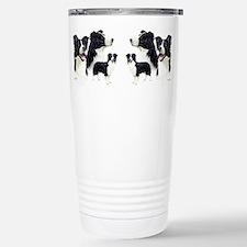 Cute Border collie Travel Mug
