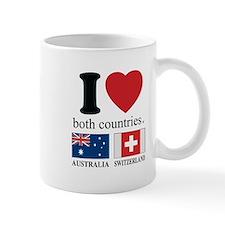 AUSTRALIA-SWITZERLAND Mug
