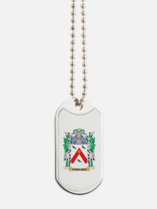 Fairbairn Coat of Arms (Family Crest) Dog Tags