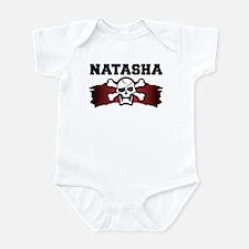 natasha is a pirate Infant Bodysuit