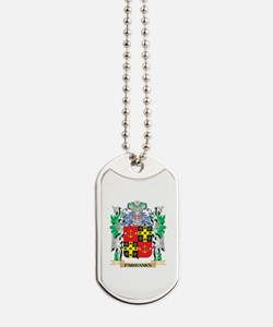 Fairbanks Coat of Arms (Family Crest) Dog Tags