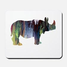 Rhinoceros Mousepad