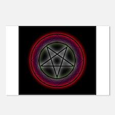 Unique Satanic Postcards (Package of 8)