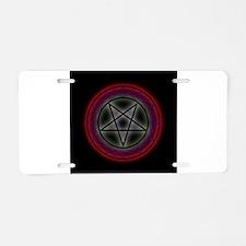 Cute Satanic cults Aluminum License Plate