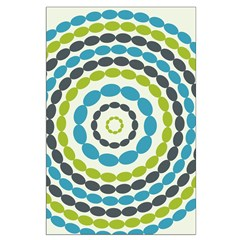 Beaded Circles Retro Mod Posters