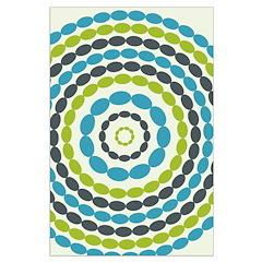 Beaded Circles Retro Mod Posters