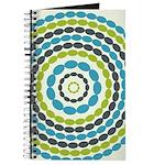 Beaded Circles Retro Mod Journal