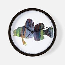 Sculpin Wall Clock