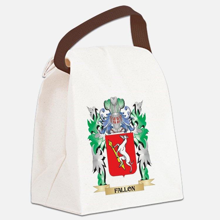 Fallon Coat of Arms (Family Crest Canvas Lunch Bag