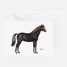 Morgan Horse Greeting Cards (Pk of 10)