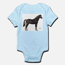 Morgan Horse Infant Creeper