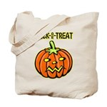 Trick or Treat Halloween Pumpkin Tote Bag