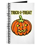 Trick or Treat Halloween Pumpkin Journal