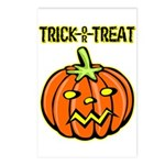 Trick or Treat Halloween Pumpkin Postcards (Packag