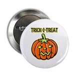 Trick or Treat Halloween Pumpkin 2.25